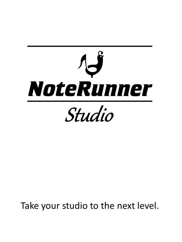 NoteRunner Studio - product image