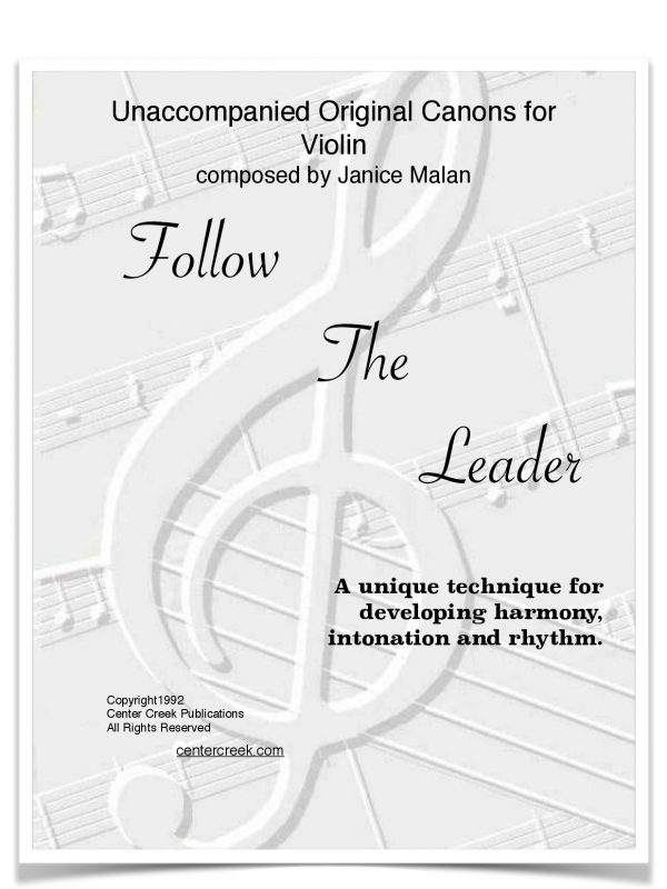 Follow the Leader for Violin-1