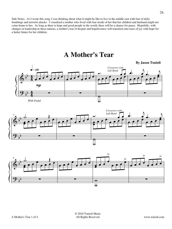 A Mothers Tear Page 1