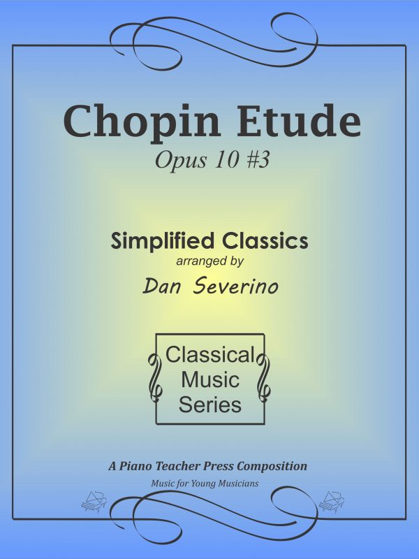 SM+ Color Cover - Chopin Etude Op 10 3